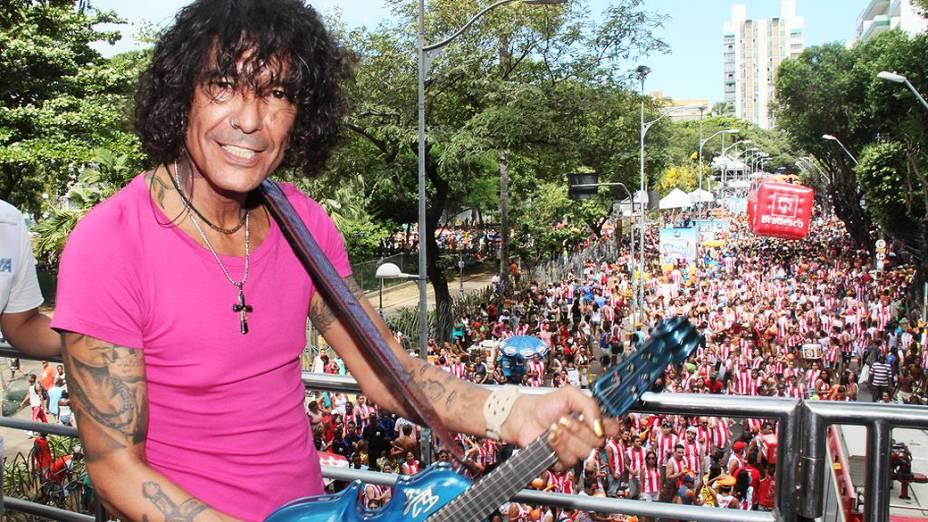 Banda Eva recebe Luiz Caldas em seu trio no circuito Campo Grande em Salvador