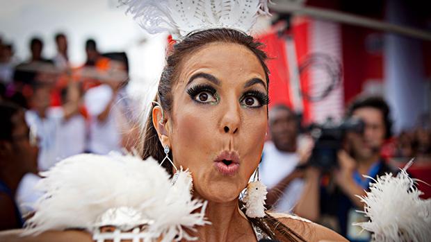 Ivete Sangalo no Carnaval de Salvador, em 01/03/2014