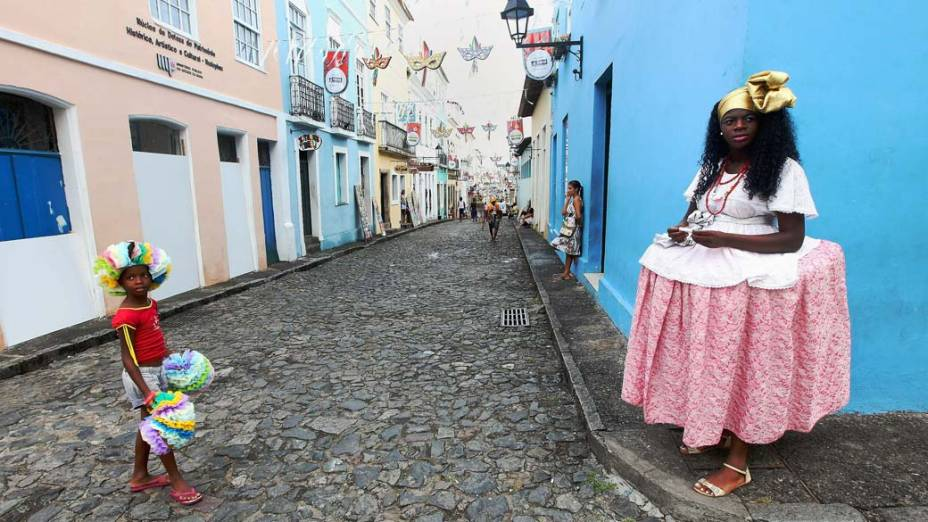 Primeiro dia de Carnaval em Salvador