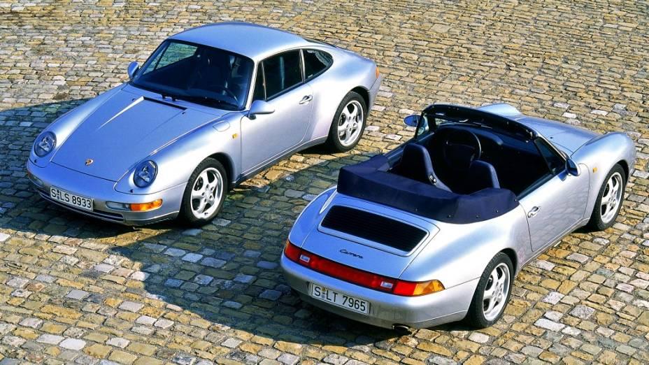 1993: 911 Carrera, versões cupê e Cabriolet