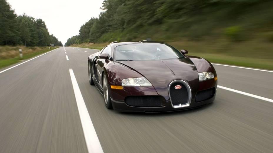 Os carrões de Samuel Etoo: Bugatti Veyron