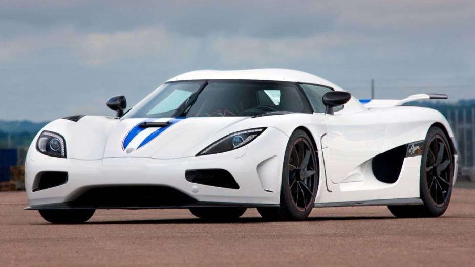 Os carrões de Samuel Etoo: Koenigsegg Agera R