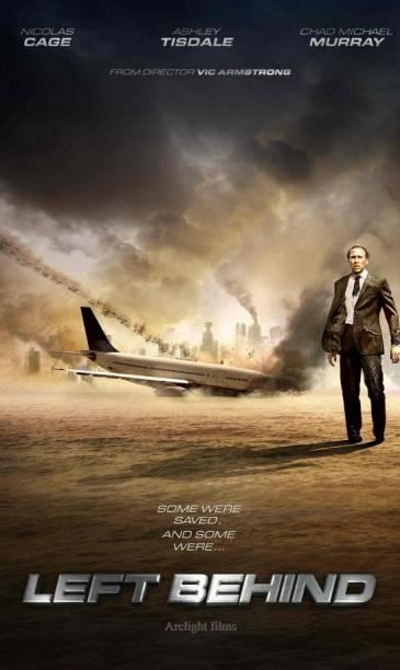 Cartaz do filme Deixados para Trás, remake de produção evangélica dos anos 2000