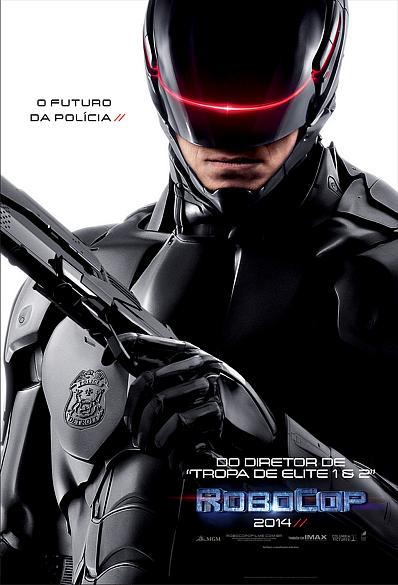 Cartaz do filme Robocop: A Origem