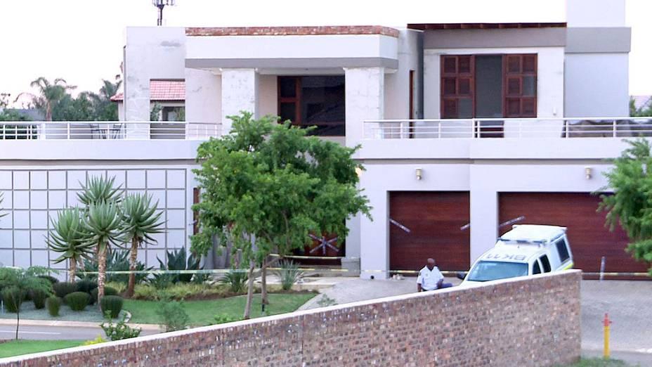 Casa do atleta Oscar Pistorius, em Pretoria