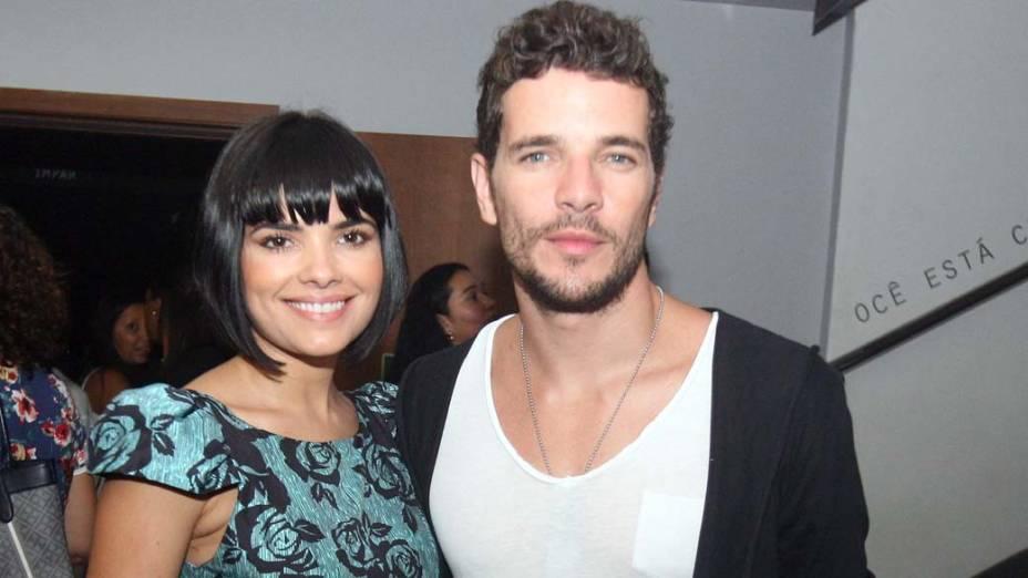 Daniel Oliveira e Vanessa Giácomo<br>