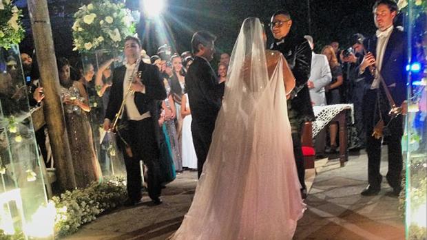 Casamento do cantor Naldo
