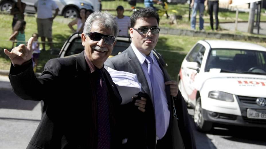 Caso Bruno - O advogado Francisco Simim, que defende Ingrid Calheiros