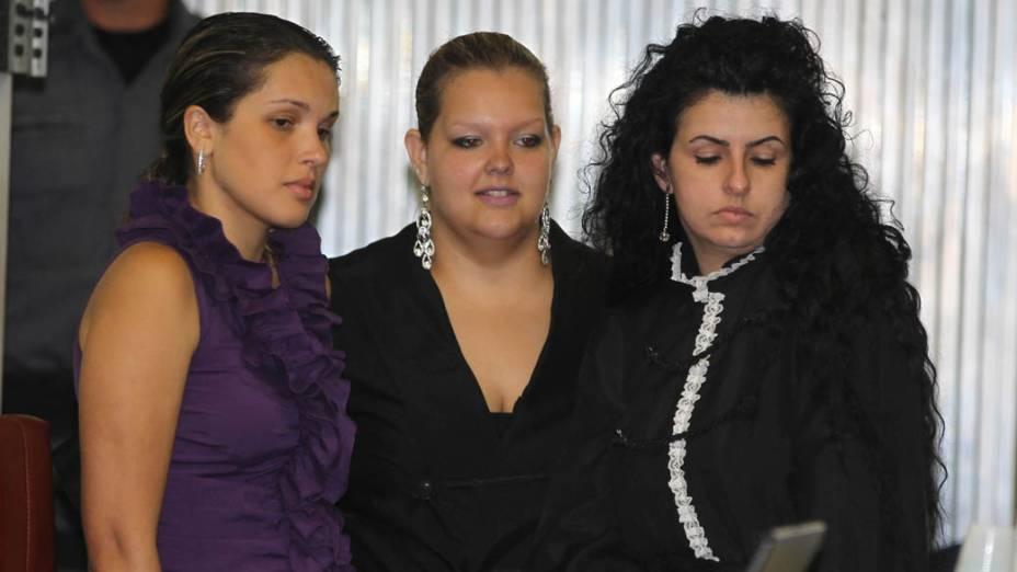 A advogada de Lindemberg, Ana Lúcia Assad durante julgamento de Lindemberg Alves