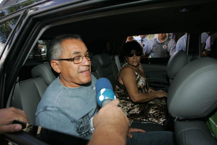 Os pais de Ana Carolina Oliveira, avós maternos de Isabella Nardoni.