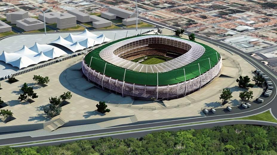 Projeto do Castelão, no Ceará, para a Copa 2014