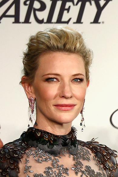 Cate Blanchett participa do Chopard Trophy no Festival de Cannes 2014, em 15 de maio de 2014