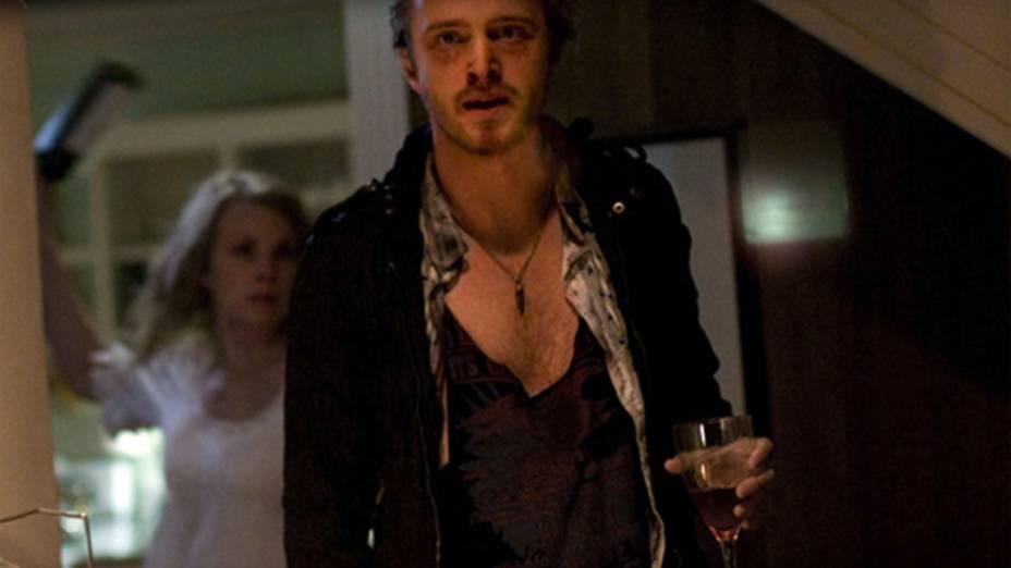 O ator Aaron Paul no filme A Última Casa