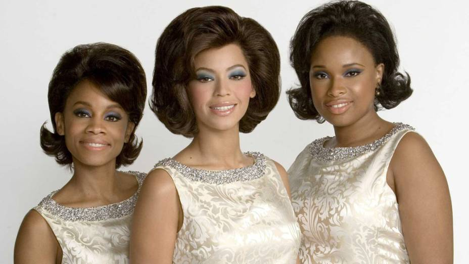 Jennifer Hudson, Beyoncé e Sharon Leal no filme Dreamgirls, de Bill Condon