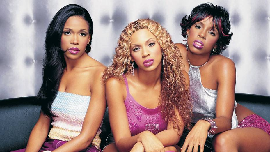 Kelly Rowland, Beyoncé e Michelle Williams, integrantes do conjunto Destinys Child