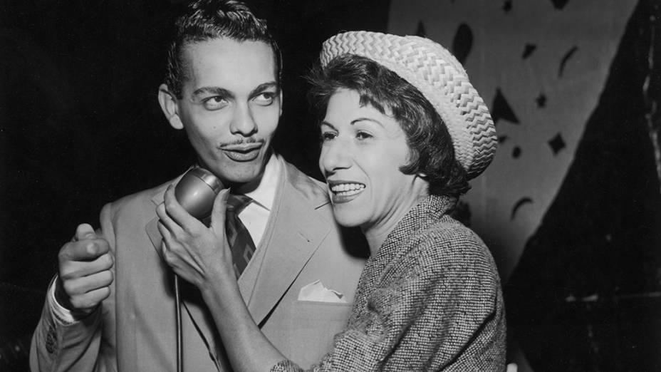 Cauby Peixoto e Yara Sales em 1955