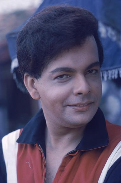 O cantor Cauby Peixoto