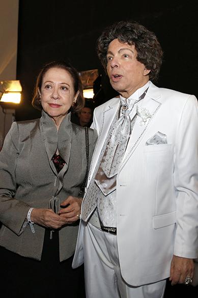 Fernanda Montenegro e Cauby Peixoto no 24ª Prêmio da Música Brasileira
