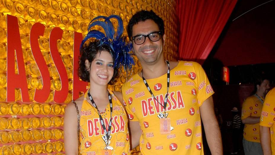 Maria Flor no Carnaval do Rio