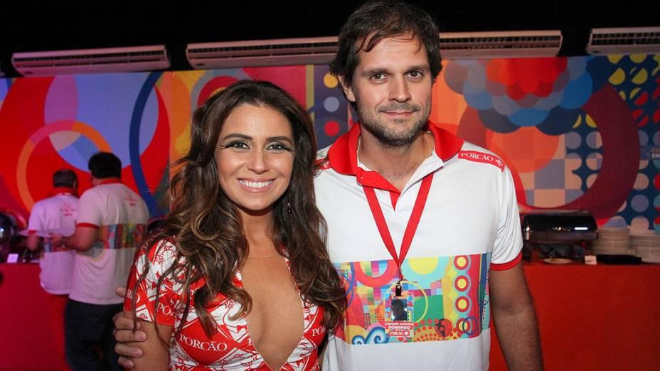 A atriz Giovanna Antonelli no Carnaval do Rio