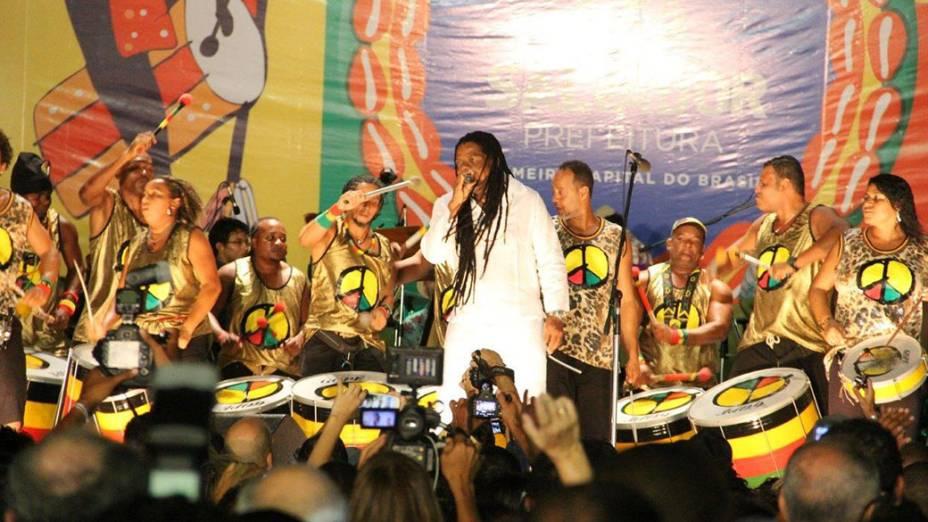Olodum abre o Carnaval de Salvador