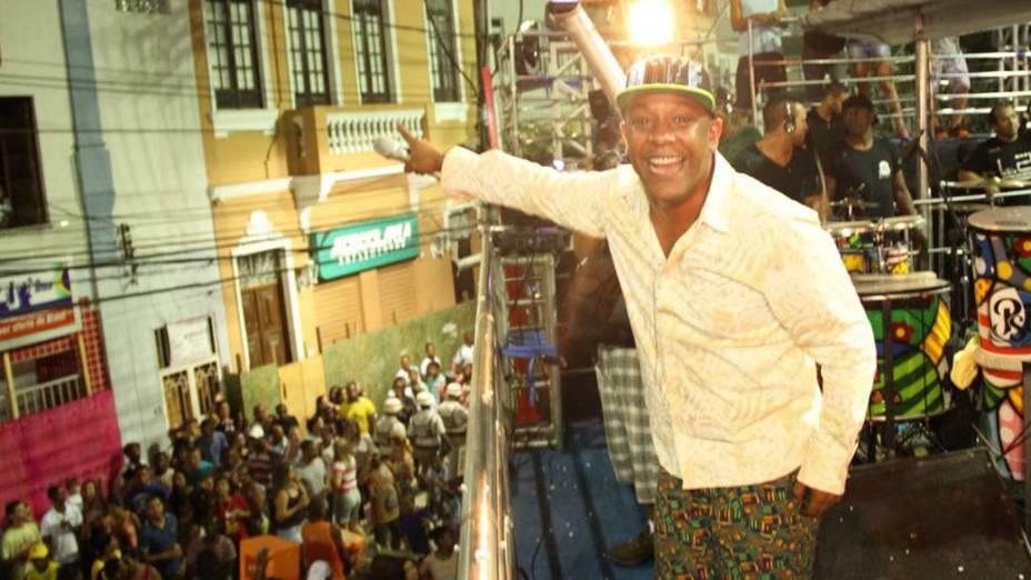 Pisirico abre o circuito Osmar em Campo Grande no Carnaval de Salvador, em 27/02/2014