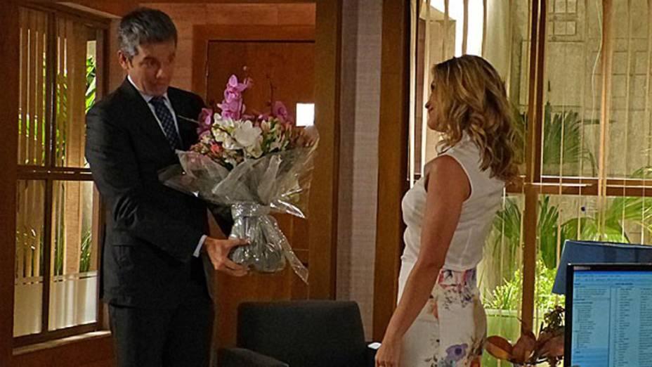 Haroldo (Otaviano Costa) e Érica (Flávia Alessandra) ficam juntos
