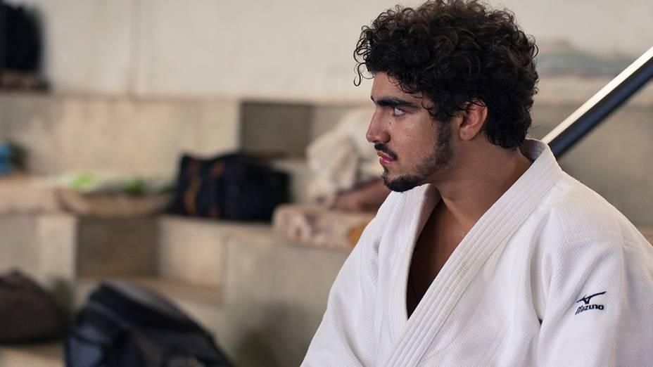 O ator Caio Castro no filme A Grande Vitória