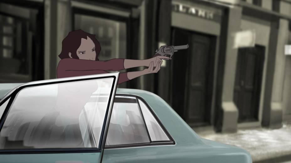 Cena do longa de animação brasileiro Uma História de Amor e Fúria, escrito e dirigido pelo premiado cineasta e roteirista Luiz Bolognesi (Bicho de Sete Cabeças, As Melhores Coisas do Mundo, Chega de Saudade)