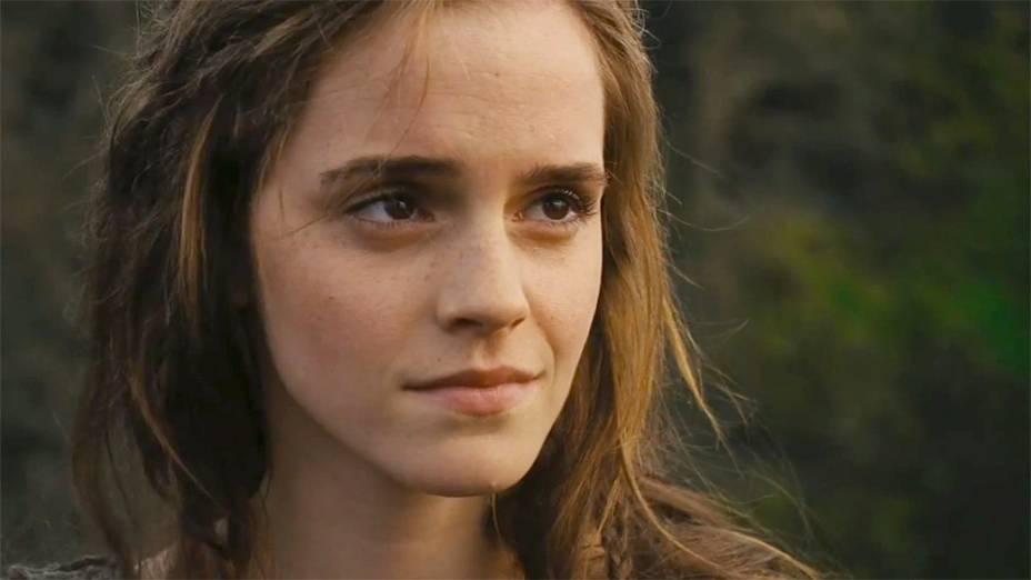 A atriz Emma Watson em cena do filme Noé