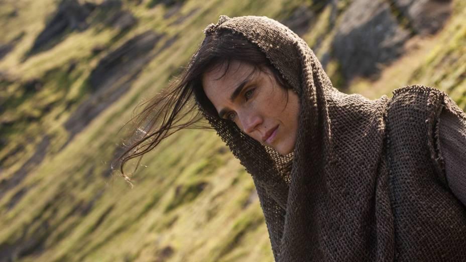 A atriz Jennifer Connelly em cena do filme Noé