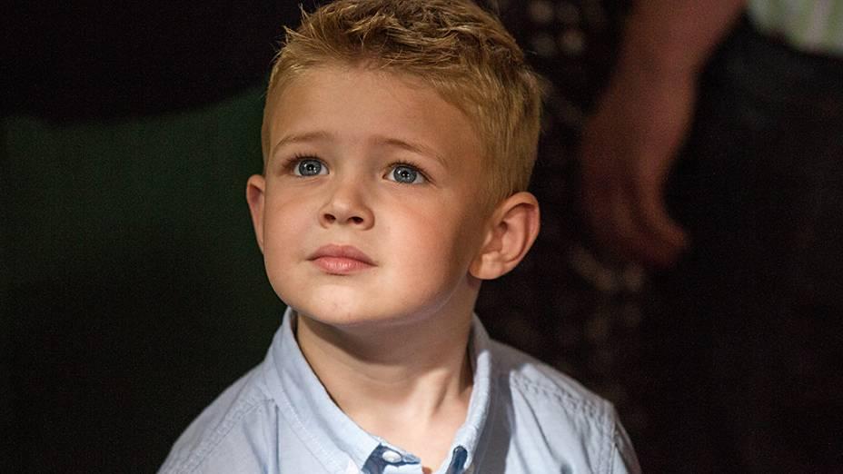 Colton Burpo (Connor Corum) personagens do filme O Céu É de Verdade