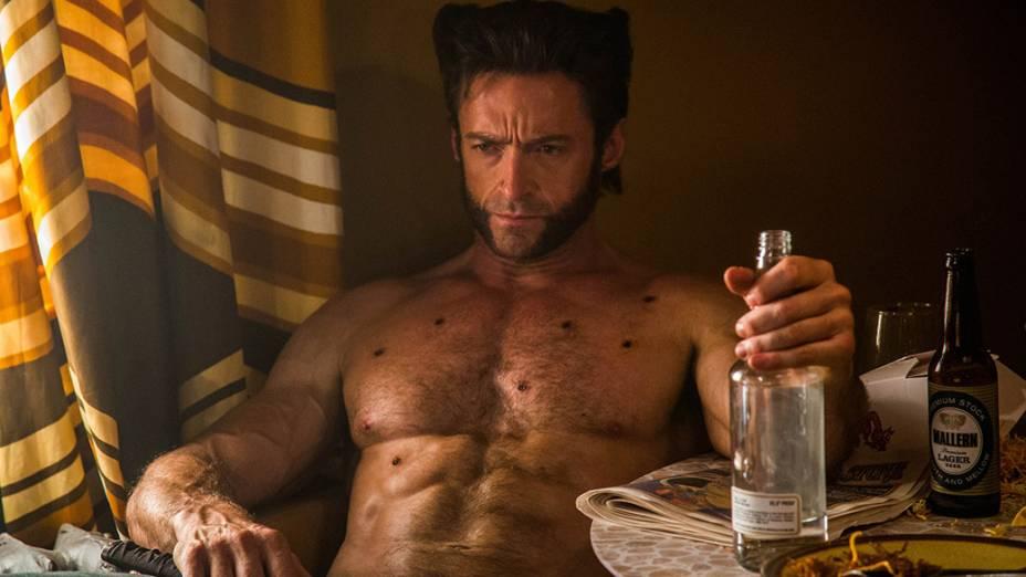 Ator Hugh Jackman em cena do filme X-Men – Dias de um Futuro Esquecido