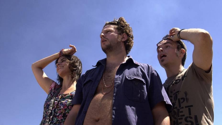 Cena do filme Árido Movie (2005), de Lírio Ferreira