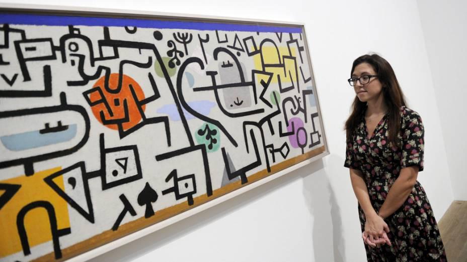 Mostra do pintor Paul Klee na Tate Modern, em Londres
