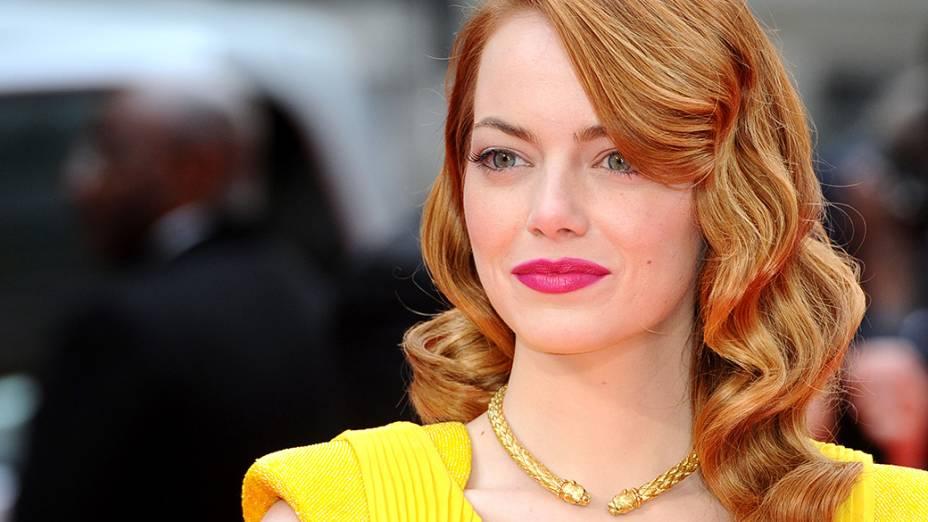A atriz Emma Stone