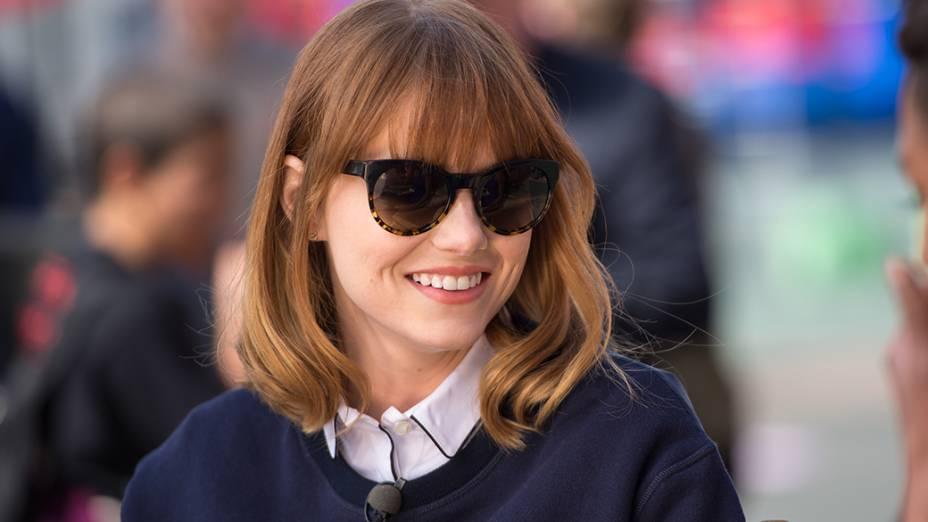 A atriz americana Emma Stone