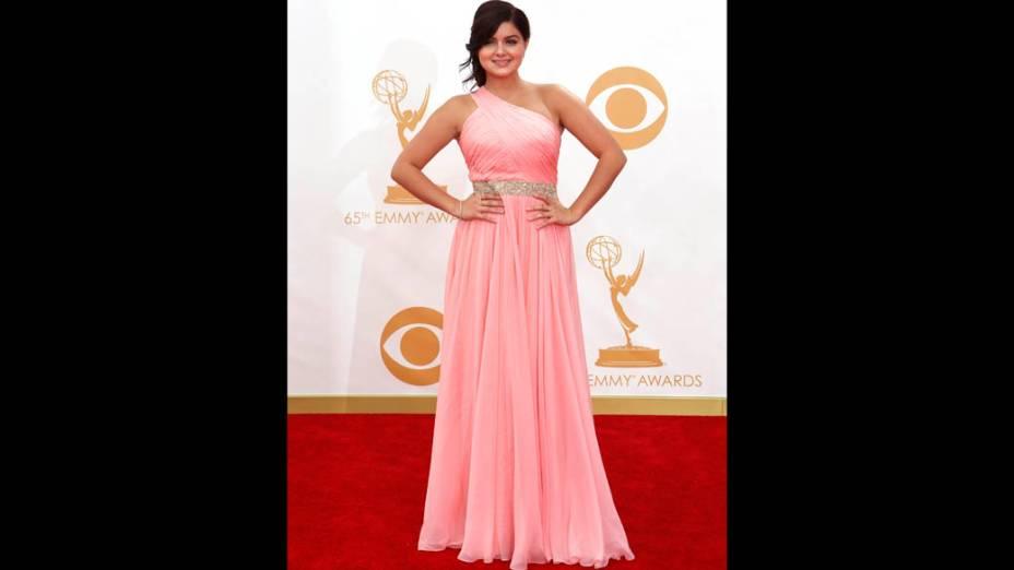 Atriz Ariel Winter da série Modern Family, chega para a premiação do Emmy
