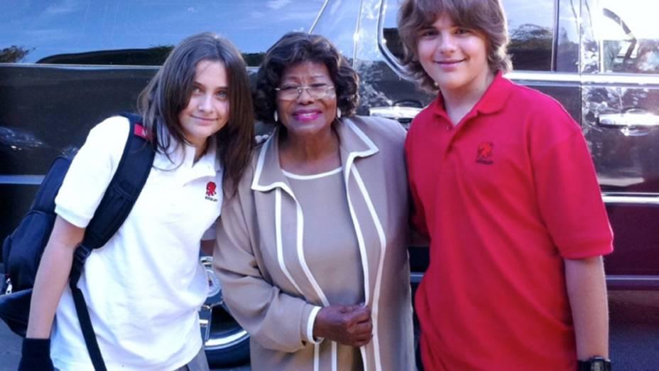 Paris, Katherine Jackson e Prince