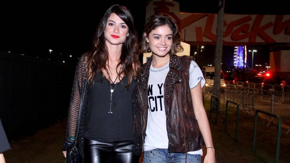 Thaila Ayala e Sophie Charlltte chegam para o sexto dia de Rock in Rio 2013