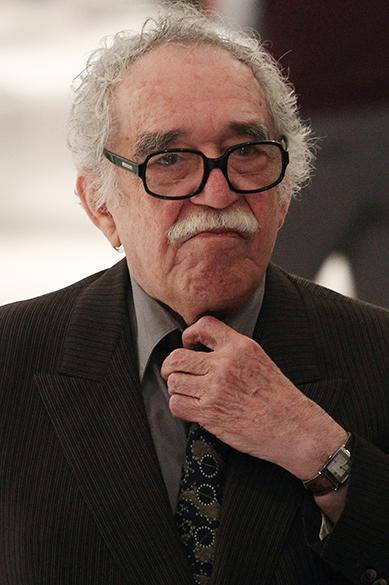 O escritor colombiano Gabriel García Márquez