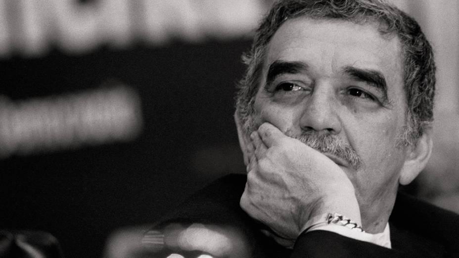 O escritor Gabriel García Márquez, em 1983