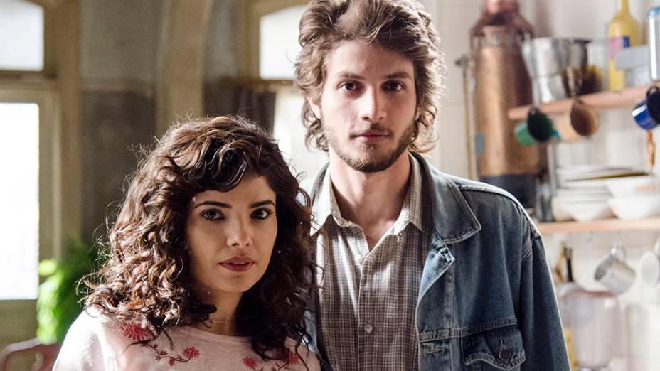 Eliane (Vanessa Giácomo) e José Alfredo (Chay Suede)