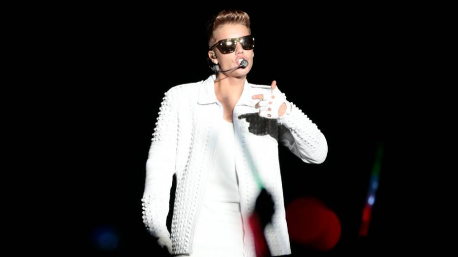 """Justin Bieber faz show da turnê """"Believe Tour"""", na Praça da Apoteose, no Rio de Janeiro"""