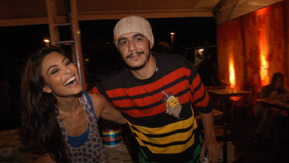 Marcelo D2 e Juliana Paes em 2006