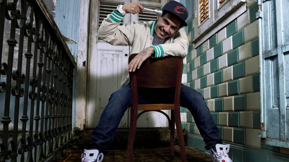 Rapper Marcelo D2 em ensaio fotográfico