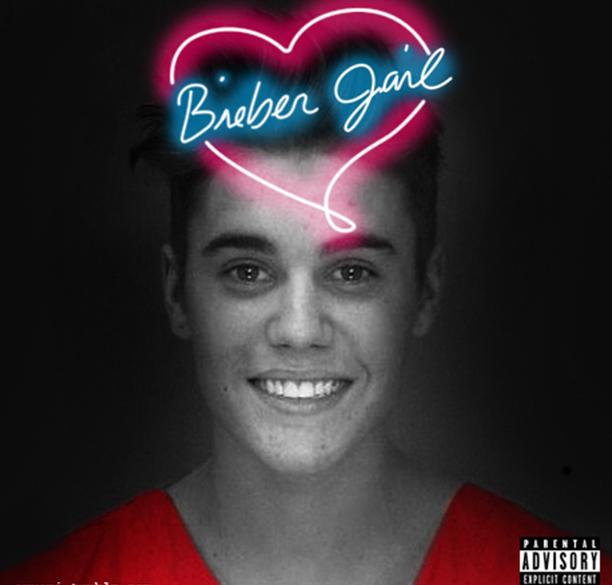 Capa de último álbum de Britney Spears ganha nova versão com a foto do registro policial de Justin Bieber