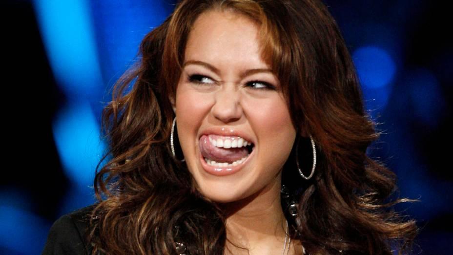Miley Cyrus no American Idol de 2008
