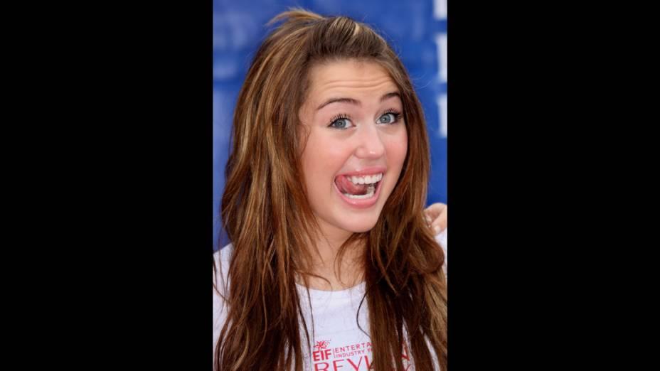 Miley Cyrus em 2008