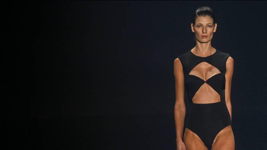 A grife Filhas de Gaia apresenta nova coleção durante o quarto e último dia da Fashion Rio